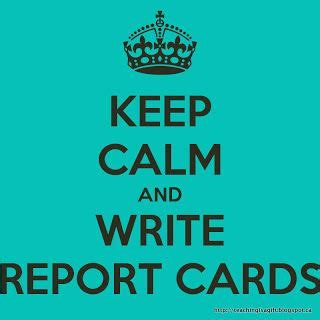 How to write a elementary report